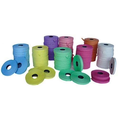 fiberoll segnanomi vari colori.