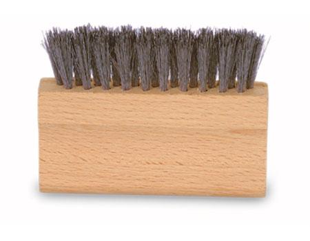 spazzola tronchetto in acciao