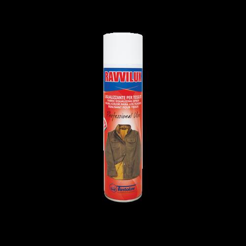 Ravvilux spray è un prodotto uniformante e ugualizzante che restituisce tonalità e uniformità ai tessuti stinti