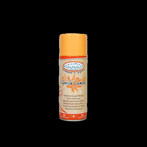 Hygienfresh Vaniglia Limone spray è un deodorante salvatessuti con speciale formula mangiaodori.