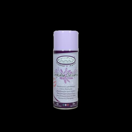 fresh orchidea spray è un deodorante salvatessuti con speciale formula mangiaodori.