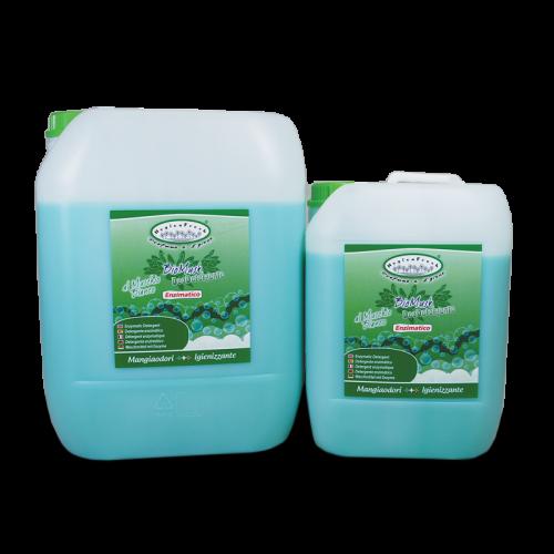 HYGIENFRESH® BIOMUSK è il deodetergente enzimatico completo efficace contro tutti i tipi di macchie anche a basse temperature. Gli enzimi in esso contenuti agiscono in sinergia contro lo sporco e le macchie più difficili. Ha una piacevole fragranza al Muschio Bianco.