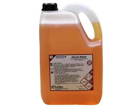 Decal Wash Disincrostante acido per lavastoviglie, privo di odori, in grado di rimuovere efficacemente qualsiasi tipo di deposito calcareo.