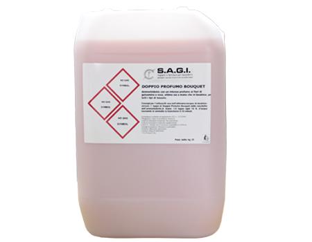 DeoAmmorbidente igienizzante super concentrato con un intenso profumo ai fiori di gelsomino e rosa. Resistente alle temperature delle asciugatrici, lascia i capi morbidissimi e profumati.