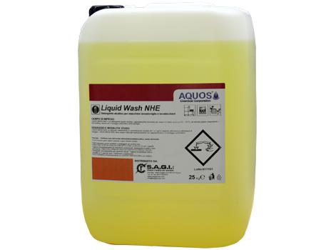 Detergente liquido alcalino per macchine lavastoviglie alimentate con acque dure (10 ÷ 25 °F) ad elevato potere disperdente ed azione antiscalfing.