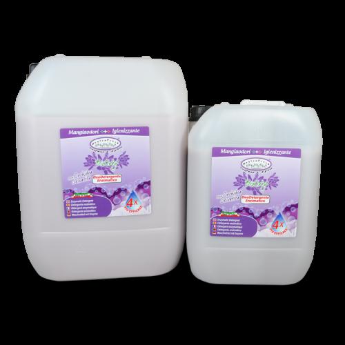 HYGIENFRESH® BIOORKY è il deodetergente enzimatico completo efficace contro tutti i tipi di macchie anche a basse temperature. Gli enzimi in esso contenuti agiscono in sinergia contro lo sporco e le macchie più difficili. Ha una piacevole fragranza all'Orchidea Selvatica.