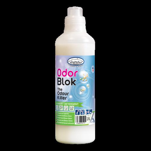 Detergente per bucato con azione specifica eliminaodore. Efficace contro tutti gli odori, anche i più persistenti, igienizza il bucato senza rovinare i tessuti donando un gradevole profumo di pulito. Ideale per il bucato di tutti i giorni, Pet Wash, Sport Wash, case di cura e laddove vi è un problema di bucato con cattivo odore.