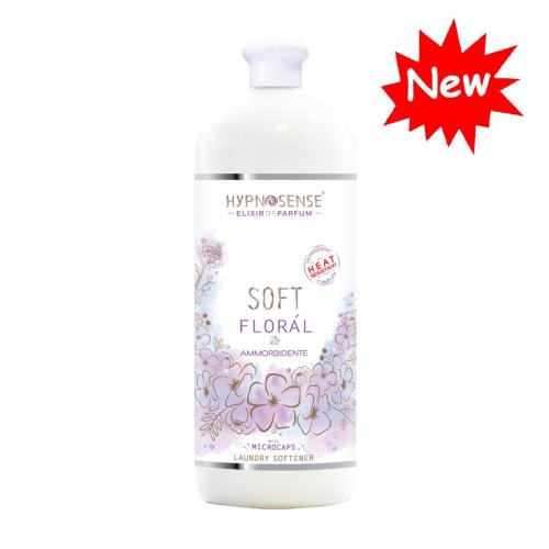 Ammorbidente Floràl al profumo di magnolia e fiori selvatici. La fragranza microincapsulata resiste alle alte temperature garantendo un bucato profumatissimo, piacevolmente morbido e facile da stirare.