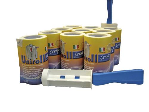Una spazzola adesiva professionale piu 10 ricambi