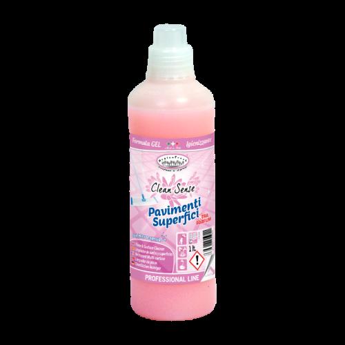 Detergente per pavimenti e superfici alla fragranza Clean Sense.