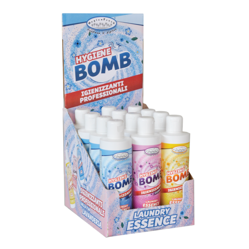 Espositore essenze Hygiene Bomb