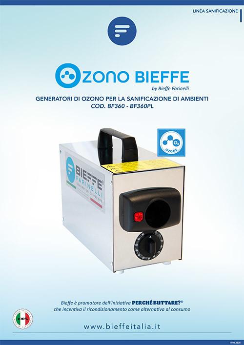Generatore di Ozono compatto e leggero per la sanificazione di ambienti di piccole e medie dimensioni