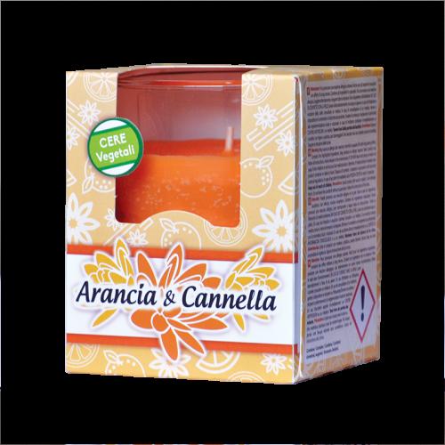 candela profumata arancia e cannella hygienfresh