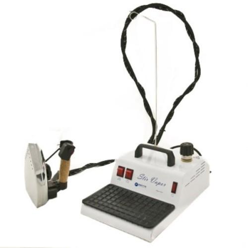 Generatore di vapore con caldaia da 1,5 Lt dotato di ferro da stiro professionale Bieffe.