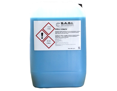 detergente enzimatico professionale Dely Enzy