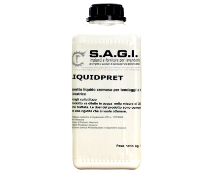 Liquid Pret liquido cremoso per tendaggi kg1