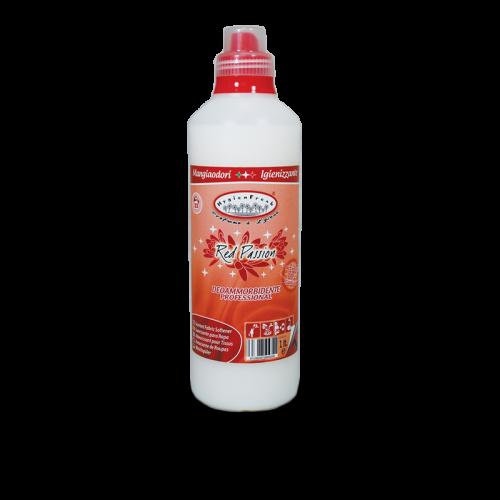 ammorbidente igienizzante red passion della linea hygienfresh della tintolav