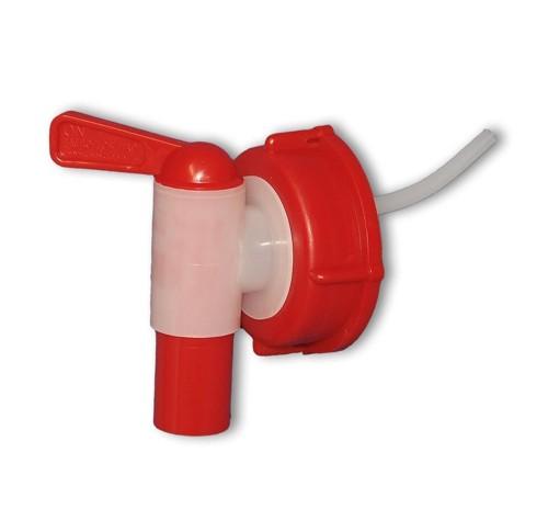 rubinetto erogatore adatto a taniche da 5, 10 e 20 litri.