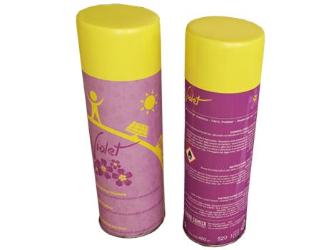 deodorante violet salvatessuti prodotto dalla nord chimica