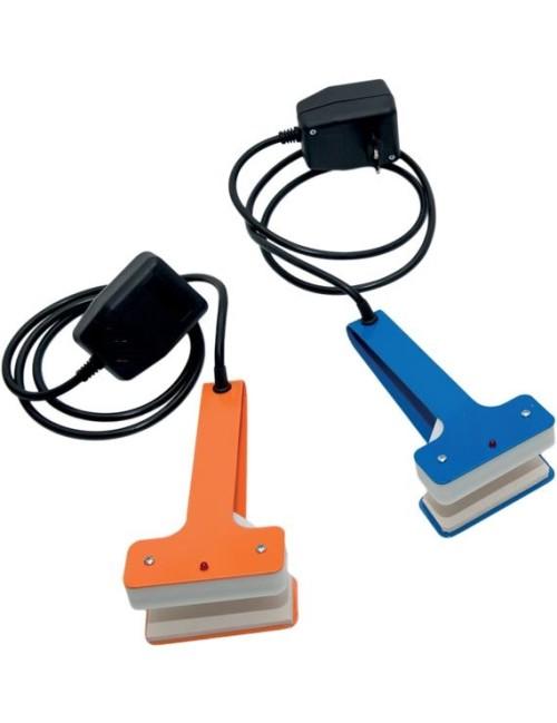 GRIP pinze pratiche che consentono di realizzare una maniglia ovale ergonomica in qualsiasi busta in polietilene sottovuoto,
