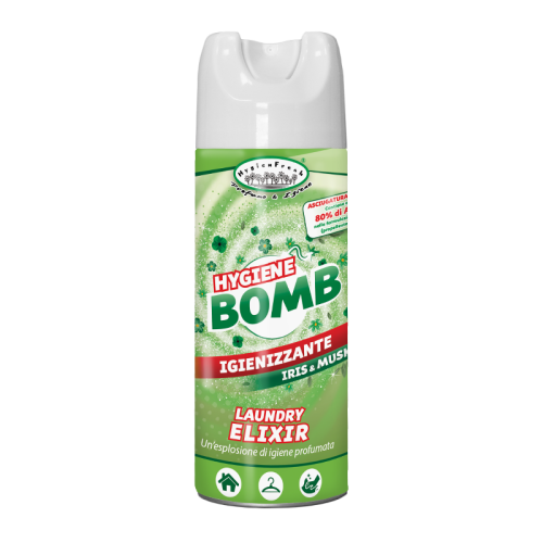 spray igienizzante per ambienti e tessuti Hygiene Bomb